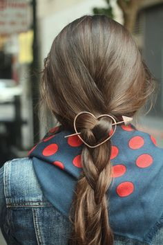 Wear your heart in your hair