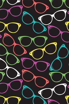 Glasses by zryankurd Galaxy Hole-Punch Wallpaper Cute Backgrounds, Cute Wallpapers, Wallpaper Backgrounds, Iphone Wallpapers, Eyes Wallpaper, Glasses Wallpaper, Whatsapp Wallpaper, Eye Art, Mobile Wallpaper