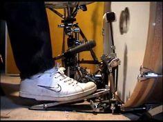 Lesson 1 - Foot Technique (John Bonham) - YouTube