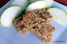 simplefoodhealthylife - Simple Food Healthy Life Home - Peanut Butter and Apple Oatmeal Breakfast Bars