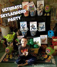 DIY Character Party Supplies | @PluckingDaisy #SkylandersGiants #party #DIY