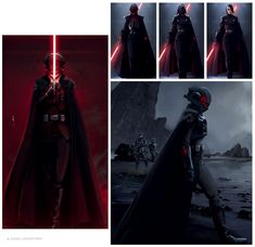 Second Sister Concepts - Star Wars Jedi: Fallen Order Art Gallery Darth Maul Comic, Darth Vader, Star Wars Jedi, Star Wars Art, Female Jedi, Sci Fi Novels, Two Sisters, Game Character Design, Cosplay