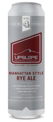 mybeerbuzz.com - Bringing Good Beers & Good People Together...: Upslope Releasing Manhattan Style Rye Ale 6/4