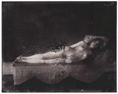 E.J. Bellocq in 1910 began his career in USA as a photographer, delighting with the creation of images for commercial purpose. He carried out his activities in New Orleans, where he realized hundreds of photographs immortalizing prostitutes in the red light district of Storyville. They were caught in sensual poses, intimate, dramatic. The neighborhood was destroyed in 1917, and were lost too many shots of Bellocq, who died in solitude in 1949.