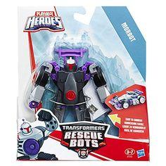 Playskool Heroes - Transformers Rescue Bots - MorBot - Figurine Transformable: Amazon.fr: Jeux et Jouets