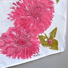 Vera Neumann Linen Tea Towel