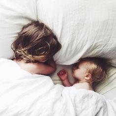 sibling snuggles//