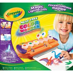 Crayola Colour Wonder Magic Lightbrush