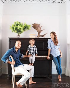 Antlers and a piano - two of my favorite things...