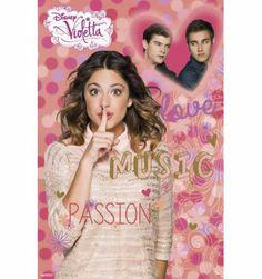 Maxi Poster Violetta Grupo Erik Editores Sl