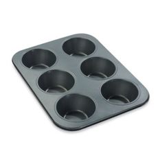 Chicago Metallic™ 6-Cavity Giant Muffin Pan - BedBathandBeyond.com