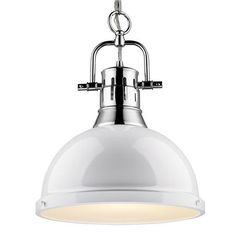 Classic Dome Large Shade Pendant Light