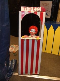 ticket booth.  Happy Meal anyone?