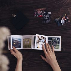 Leporelo z vlastních fotek ❤️ Sad, Polaroid Film