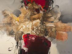 Jou Lee Hyun - Contemporary artist painter | Nuances Art Gallery | Galerie d'art Nuances à Montréal Art Gallery, Galerie D'art, Mixed Media Canvas, Oil Painting Abstract, Wall Sculptures, Amazing Art, Street Art, Illustration Art, Mix Media