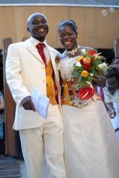 Tenue marié African Wedding Dress, African Dress, Wedding Dresses, African Clothes, Kitenge, African Print Fashion, Black Love, Christmas Wedding, Arches
