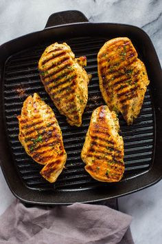 How to Grill Chicken on Stove-Top (Easy Grill Pan Method)