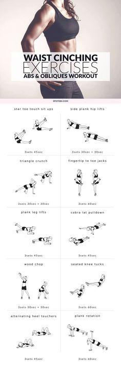 Waist Cinching Exercise