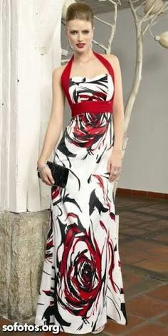 Charming maxi dress which will give you a bewitching look when you wear it.
