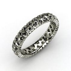 Cloaked in Hearts eternity ring