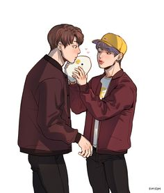 Jimin fazendo Jungkook beijar ele indiretamente GENTE SE ISSO NÃO É LINDO ENTÃO NÃO SEI O QUE É