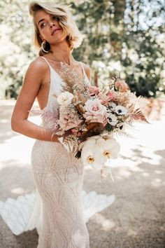 Looking for a wedding dress in Utah? We'd love to be part of your plans! Come meet our designers and get to know about our bridal shop. Boho Wedding Dress, Wedding Bouquets, Wedding Dresses, Lace Wedding, Boho Bride, Garden Wedding, Bridal Flowers, Bridal Boutique, The Dress