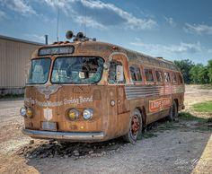 Lone Star Bus at Broken Spoke by Ellen Yeates, via Flickr