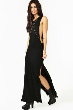 Down Low Maxi Dress