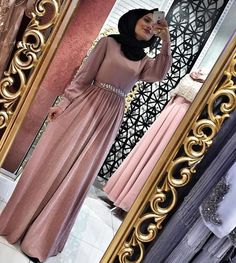 Cocktails Party Outfit For Women Hijab Gown, Hijab Evening Dress, Hijab Dress Party, Evening Dresses, Arab Fashion, Islamic Fashion, Muslim Fashion, Muslim Prom Dress, Modest Outfits Muslim