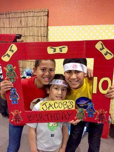 Jacob's Ninjago Birthday | CatchMyParty.com