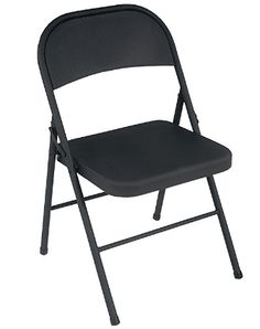 Cosco all steel folding chairs are an essential for entertaining. Featuring sturdy steel construction and non-marring leg tips, they fold up tight and compact for easy storage. Stock up now and you… Best Folding Chairs, Folding Furniture, Home Furniture, Furniture Deals, Steel Furniture, Office Furniture, Cool Chairs, Patio Chairs, Chairs