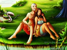 Kataang - Chillin' by Aleccha.deviantart.com