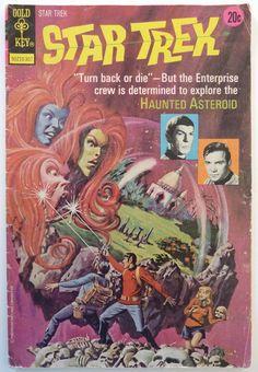 Vintage Star Trek Comic Book from 1973