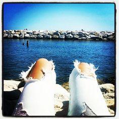 Suadade... Che te ne fai di certi orizzonti se non puoi guardarli con gli occhi di chi ami? #costieraamalfitana #estate2014 #massimobisotti #ilquadromaidipinto follow me www.primadonnastyle.net ♥