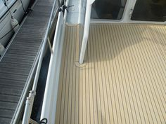 replaceing boat decking with composite Marine #yachts #boat deck materials