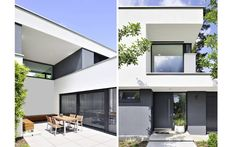 1310 Einfamilienhaus, Neubau | a.punkt architekten Houzz, Villa, Places, Windermere, Outdoor Decor, Home Decor, Gray, Home, Brickwork