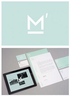 Logo and Branding: Macbeth Media Relations #branding #graphicdesign #design #logo #marketing #advertising #identity