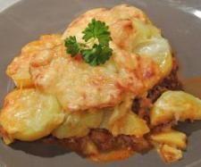 Rezept Kartoffelgratin Bologneser Art von Cathys - Rezept der Kategorie Hauptgerichte mit Fleisch