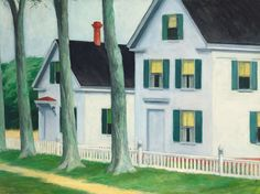 Edward Hopper - Two Puritans, 1945, oil on canvas