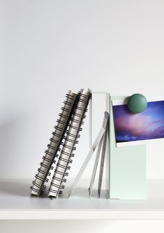 Useful, creative metal accessories like document trays are available in four colours Letter Rack, Shelf System, Clothes Rail, Dressing Area, Wood Design, Storage Solutions, Decorating Your Home, Inventions, Home Office