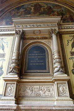 Wiener Staatsoper. Vienna, Austria.  Photo: Elena Dolgova (Jelena Fiala) Monuments, Vienna Austria, Gustav Klimt, Creative Things, Architectural Elements, Textile Design, Photo And Video, History, Architecture