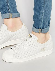 Image 1 of adidas Originals Superstar 80's Clean Trainers S32025