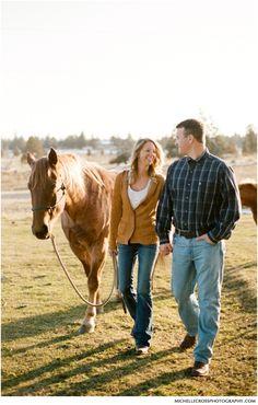 Engagement Session, Horses: http://su.pr/1wpn0e