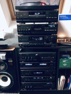 Technics Hifi, Retro, Audio Rack, Big Speakers, Hi Fi System, Music System, Hifi Audio, Vintage, Old Technology