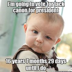 Vote Jack Canon for President - Political Thriller with Tenderness and Romance and an all or nothing rise to power.