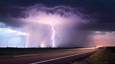 @  Epic Lightning Storm in Georgia - video