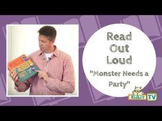 Read Out Loud | Paul Czajak Reads 'Monster Needs a Party' - KidLit.TV