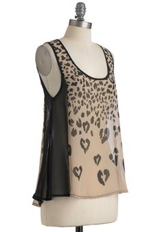 Heart Skipped a Leap Top, #ModCloth