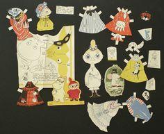 Pikku Myy  Moomins paper dollsTove Jansson