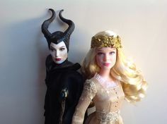 Disney Store: Maleficent 2014 | Aurora Film Collection Doll Review